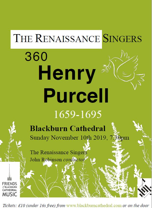 Poster Purcell concert